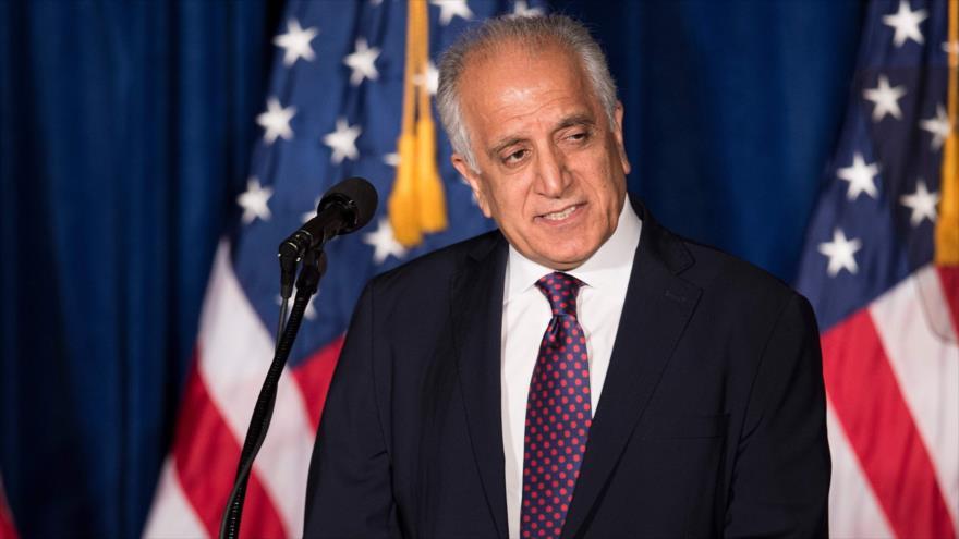 El enviado especial de Estados Unidos para Afganistán, Zalmai Jalilzad, en Washington, 27 de abril de 2016. (Foto: AFP)