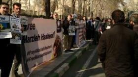 Protesta en Teherán. Conferencia antiraní. Huelga en España