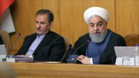 """Rohani: Irán sorteará """"con orgullo"""" el bloqueo económico de EEUU"""