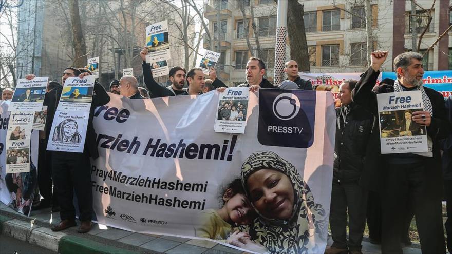Convocan protestas en 24 ciudades del mundo por detención de Hashemi