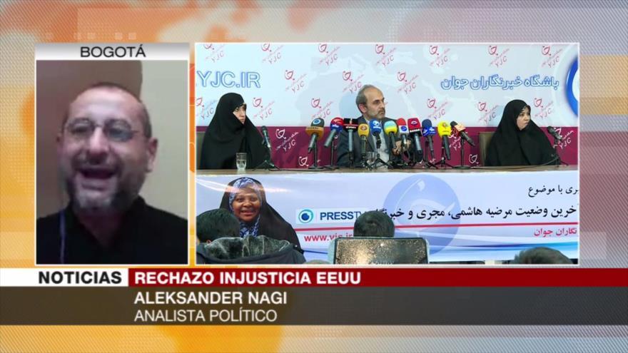 Nagi: Arresto de Hashemi revela salvajismo jurídico de EEUU