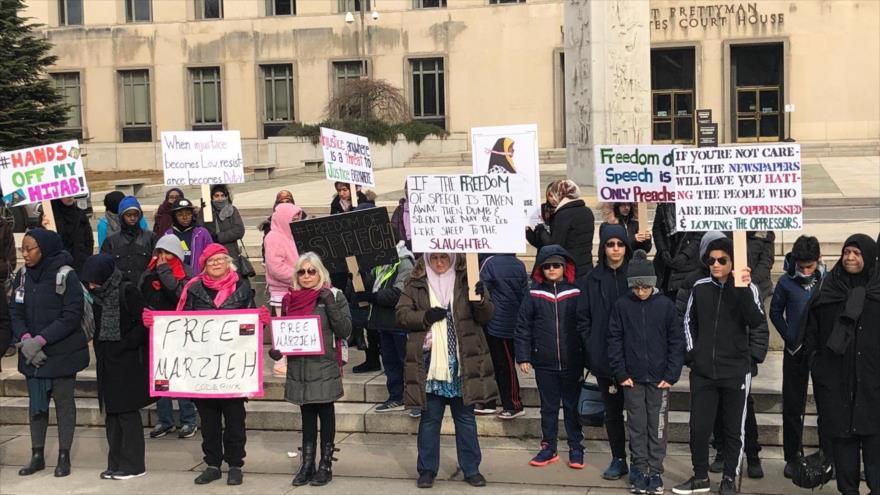 Activistas reclaman liberación de Hashemi ante corte de Washington