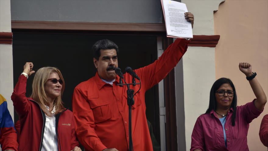Venezuela rompe relaciones con EEUU tras proclamación de Guaidó