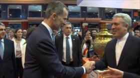 Encuentro entre reyes de España y vicepresidente iraní en Madrid