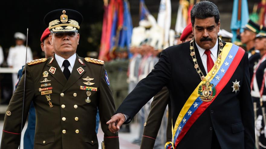 Fuerzas Armadas de Venezuela reiteran lealtad a Maduro | HISPANTV