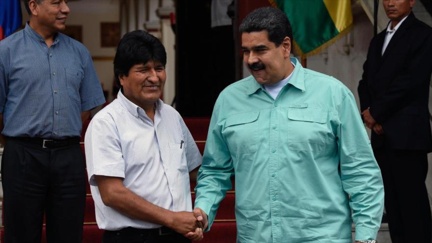 Morales apoya a Maduro: Nunca más vamos a ser patio trasero de EEUU | HISPANTV