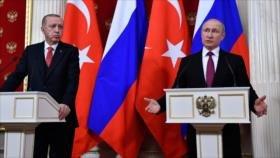 Rusia y Turquía abordan crisis siria tras retirada de EEUU
