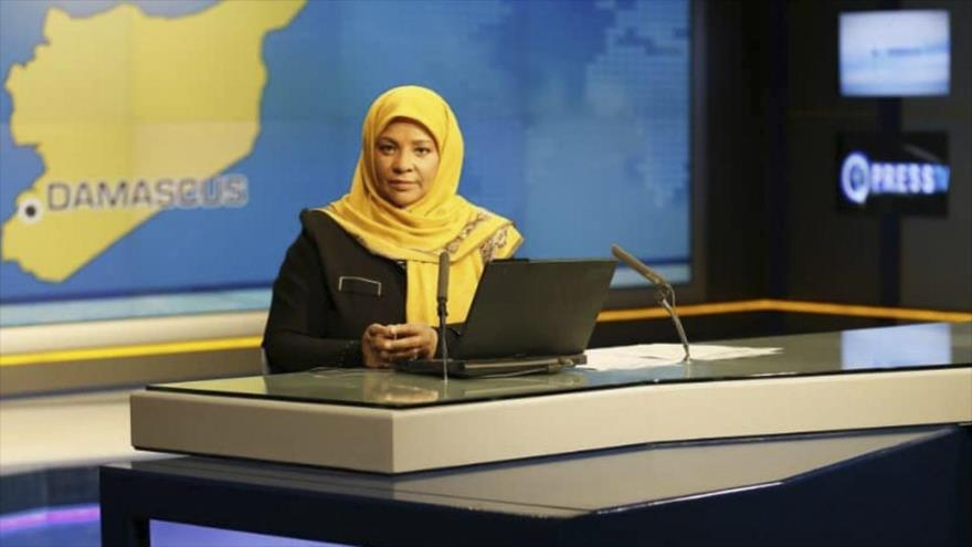 EEUU libera a presentadora de Press TV tras 10 días de detención