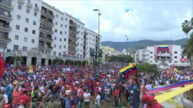 Crónica de una jornada de tensión en Venezuela