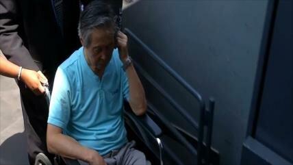 Expresidente Fujimori volvió a prisión tras trece meses