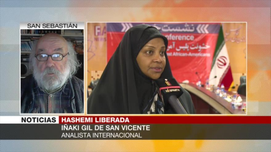 San Vicente: EEUU busca criminalizar resistencia del pueblo iraní