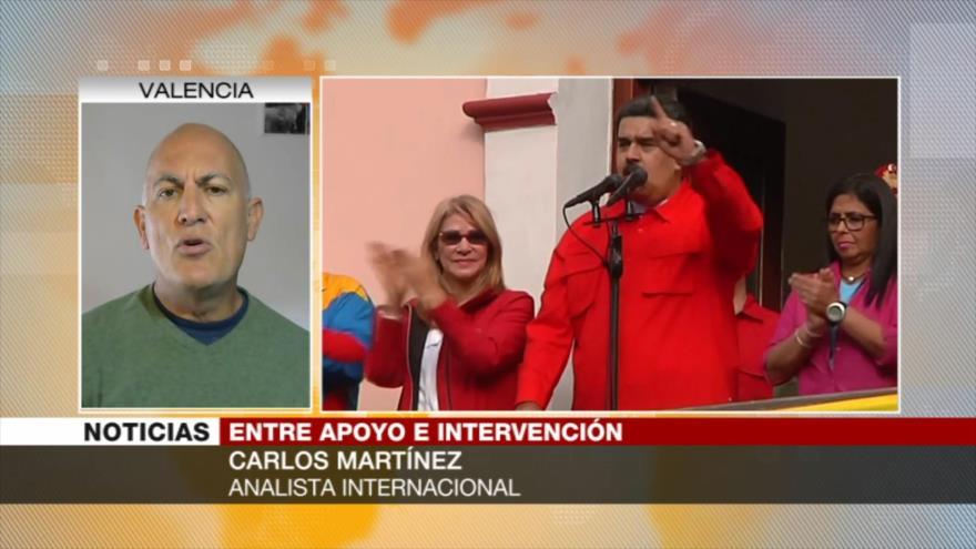 Martínez: EEUU vuelve su mirada a su patio trasero, América Latina