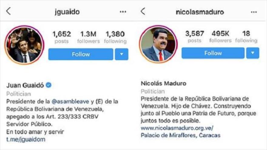 Instagram y Facebook eliminan verificación a cuentas de Maduro | HISPANTV
