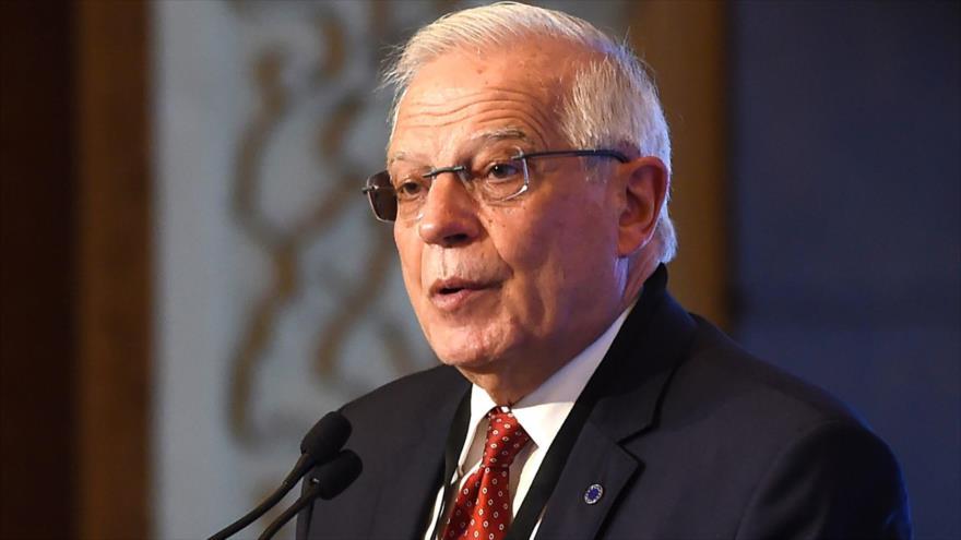 El ministro de Asuntos Exteriores de España, Josep Borrell, 9 de enero de 2019. (Foto: AFP)