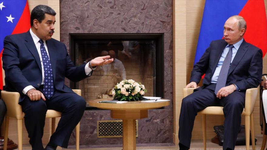 Putin apoya al Gobierno legítimo de Venezuela, presidido por Maduro | HISPANTV