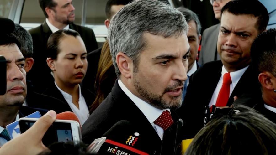 Critican a Abdo Benítez por apoyar a golpistas venezolanos | HISPANTV