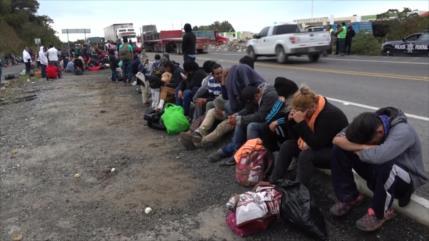 Procedentes de Oaxaca, miles de migrantes llegan a Veracruz