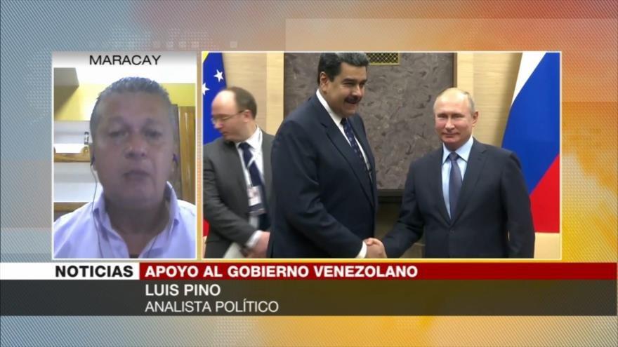 """Pino: Golpe de Estado """"se cae"""" por apoyo insuficiente a Guaidó"""