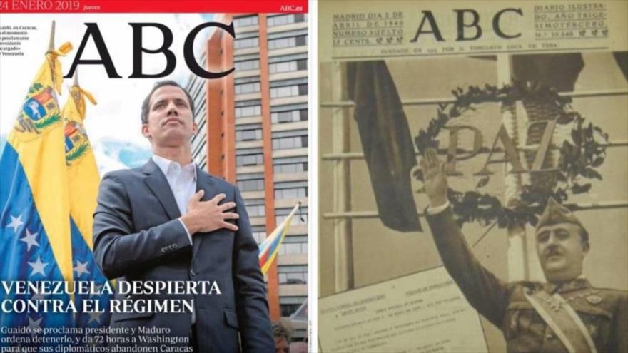 Embajada venezolana en España compara a Guaidó con Franco | HISPANTV