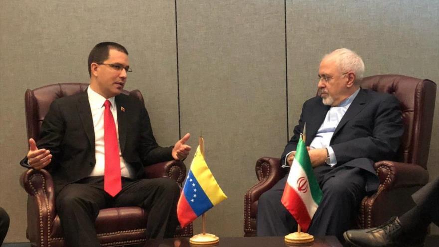 Irán promete apoyo a Venezuela frente a los complots de EEUU