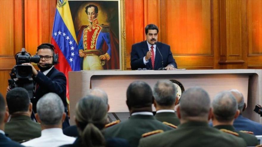 'Venezuela desmonta un golpe que busca establecer gobierno títere' | HISPANTV
