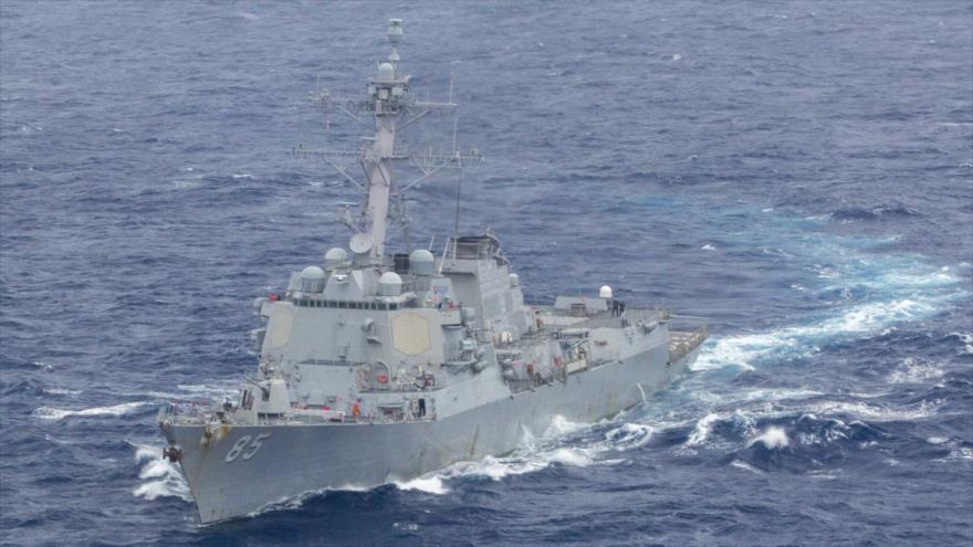 EEUU irrita a China enviando buques al estrecho de Taiwán | HISPANTV