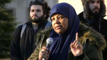 Marzie Hashemi levanta su voz en contra injusticia en EEUU