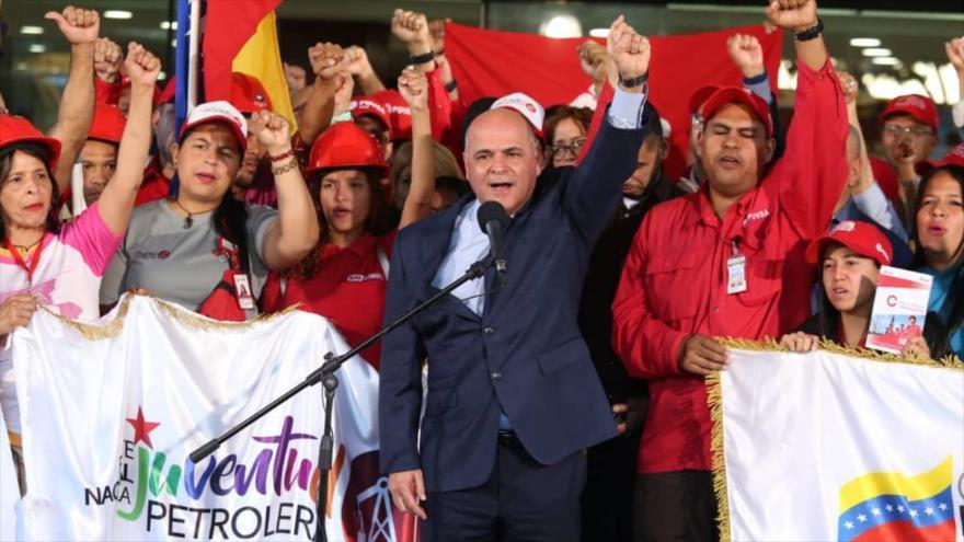 Trabajadores petroleros de Venezuela apoyan al Gobierno de Maduro | HISPANTV