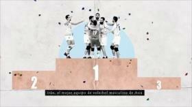 Los Primeros: Los primeros éxitos en voleibol de Irán