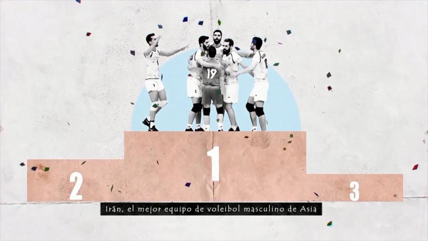 Los Primeros: Los primeros éxitos en voleibol de Irán | HISPANTV