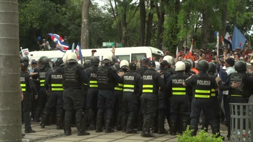 Denuncian abusos durante huelga del 2018 en Costa Rica