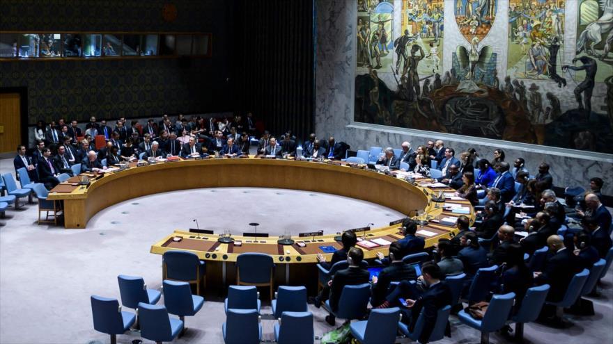 Una sesión del Consejo de Seguridad de las Naciones Unidas (CSNU) sobre la situación en Venezuela, 26 de enero de 2019. (Foto: AFP)