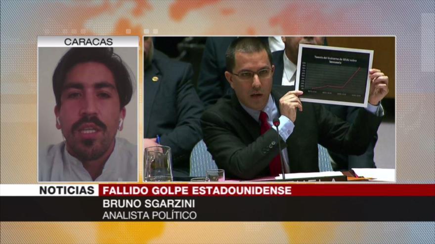 Sgarzini: Sesión sobre Venezuela, derrota internacional para EEUU