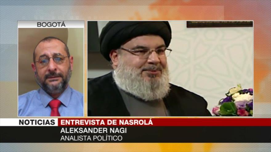 Nagi: Hezbolá usará contra Israel experiencia ganada en crisis siria