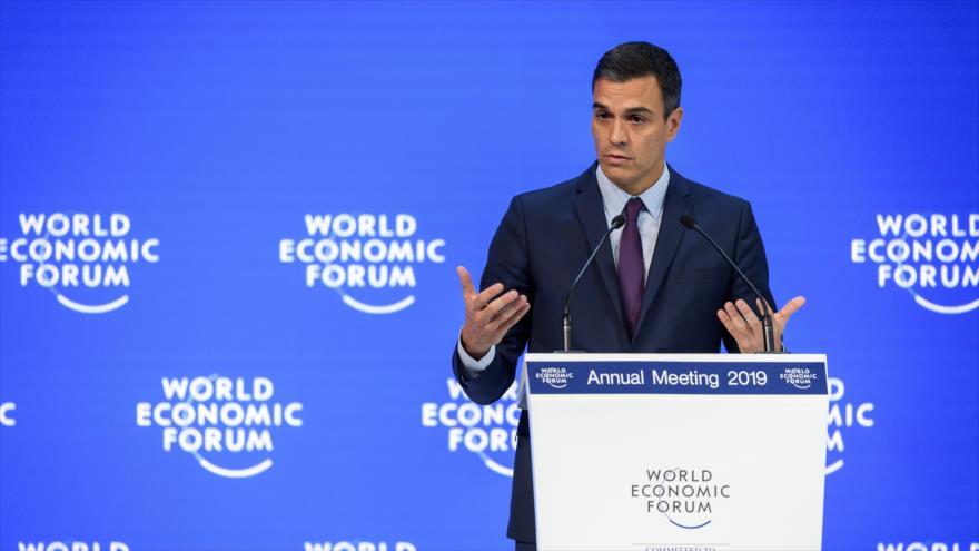 Partidos españoles condenan apoyo de Sánchez al golpe en Venezuela | HISPANTV