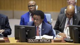 Sudáfrica rechaza injerencia de EEUU en Venezuela y apoya a Maduro