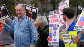 Venezolanos en Miami exigen el fin de la injerencia de EEUU