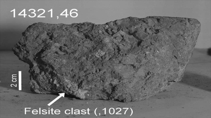 Primera evidencia potencial de un meteorito terrestre en la Luna. (Foto: NASA)
