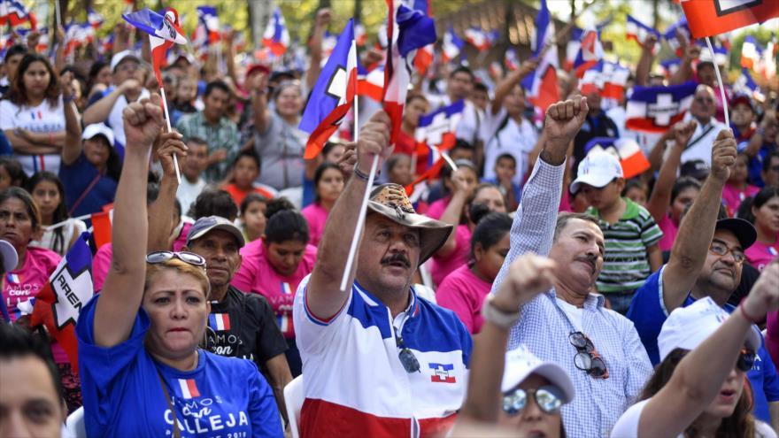 Candidatos a Presidencia de El Salvador cierran campaña electoral | HISPANTV