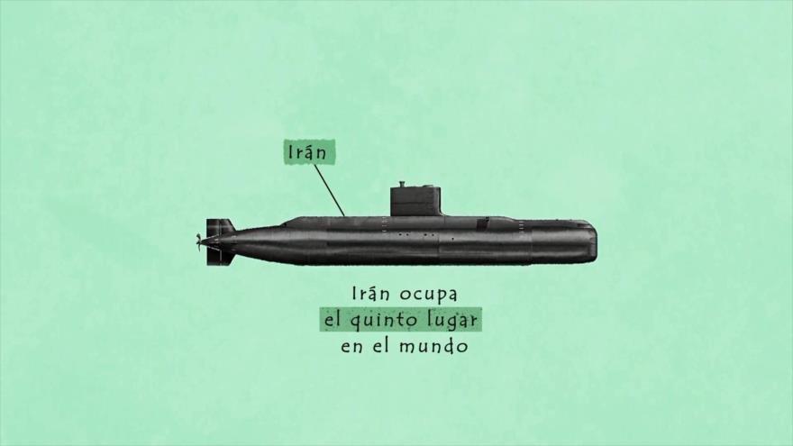 Los Primeros: Irán posee la mejor flota submarina de la región