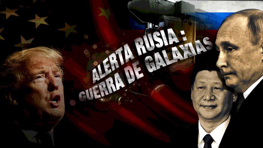 Detrás de la Razón; Militares en el espacio: la nueva guerra entre EEUU, Rusia y China