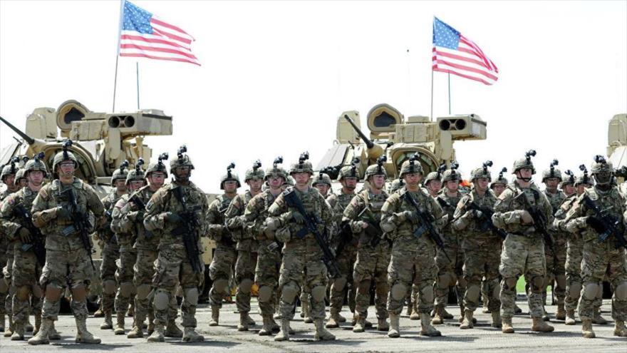 Integrantes de las Fuerzas Armadas de Estados Unidos.