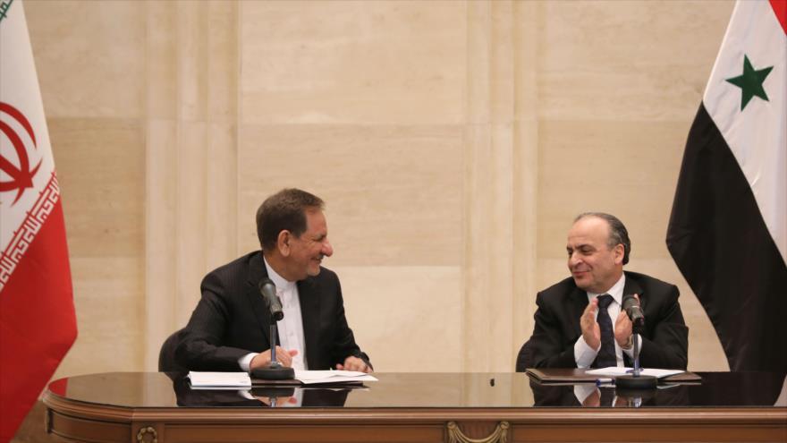 Irán y Siria firman acuerdos de cooperación en diferentes sectores