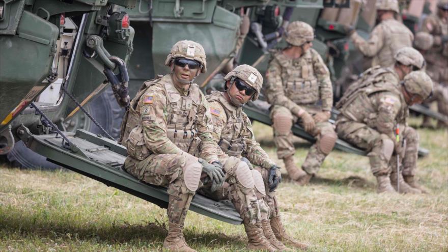Soldados estadounidenses durante unos ejercicios militares de la OTAN en Polonia, 16 de junio de 2017. (Foto: AFP)