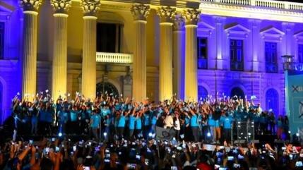 Partidos políticos cierran campaña electoral en El Salvador