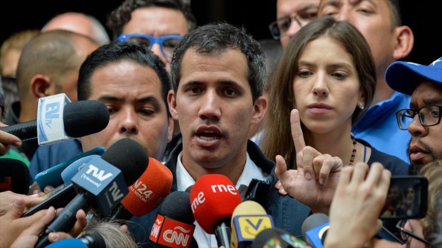 EEUU cede control de cuentas del Gobierno de Venezuela a Guaidó