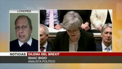Bigio: El 'plan B' de May no salvará el acuerdo del Brexit