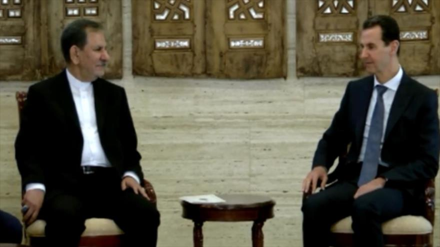 Irán y Siria inauguran un Foro de Negocio