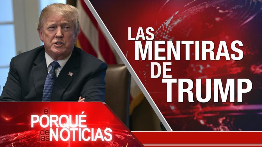 El Porqué de las Noticias: Resistencia en Venezuela. Más del Brexit. Mentiras de Trump