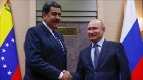 Maduro agradece apoyo multilateral de Putin a Venezuela
